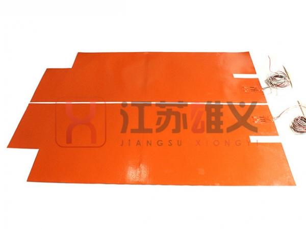 带PT100感温器电加热片