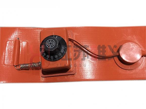 旋钮温控硅橡胶电加热带